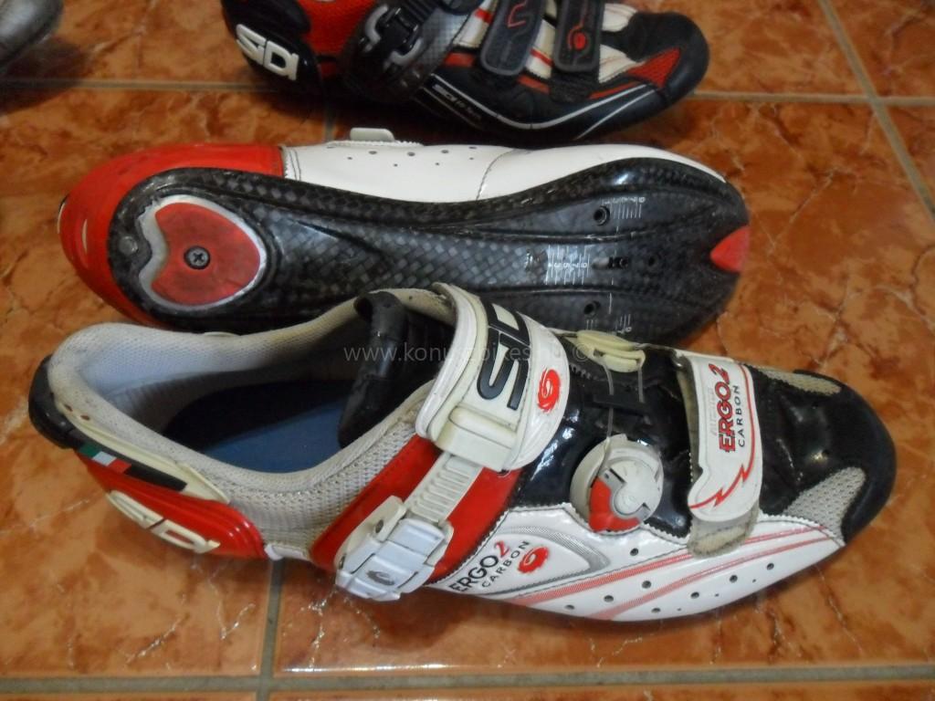Konuszbikes Sidi Ergo 2, országúti cipő, használt újszerű